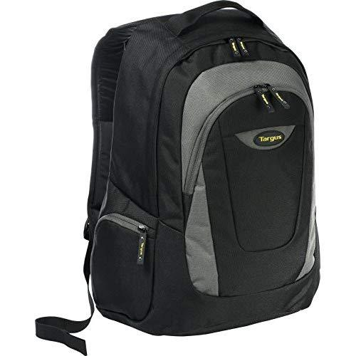 Targus Trek Professional Work Laptop Backpack With Protectve Sleeve For 16-Inch Laptop, Black With Gray Accents (Tsb193Us)