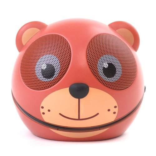 Zoo-Tunes Portable Mini Character Speakers For Mp3 Players, Tablets, Laptops Etc. (Teddy Bear)