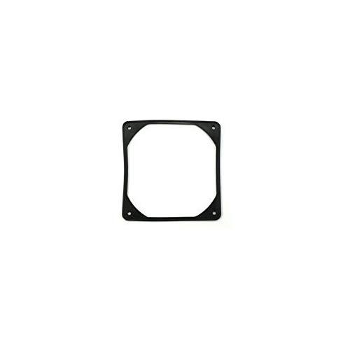 120Mm Anti-Vibration Rubber Fan Gasket - Black (2-Pack)
