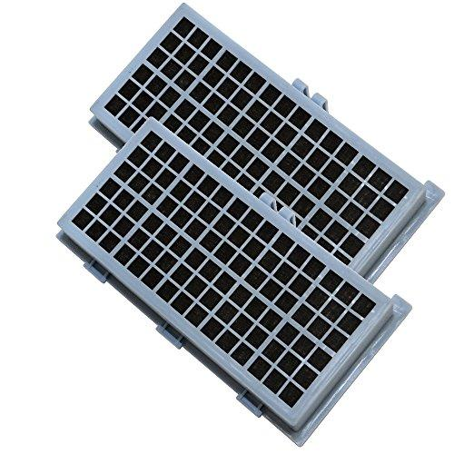 Hqrp 2-Pack Active Hepa Filters Compatible With Ah 30 Miele S