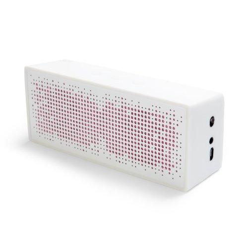 A.M.P Sp1 Portable Bluetooth Speaker, White