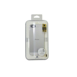 Power Support Clear Air Jacket Set For Iphone 5 &Amp; 5S (2 Screen Protectors (1 Crystal Clear, 1 Anti Glare))
