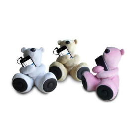Sungale S-T1 Teddy Speaker For Ipod, Iphone, Smartphone, Mp3