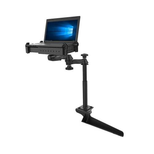 Ram No-Drill Laptop Mount For '97-16 Ford F-250 - F750 + More