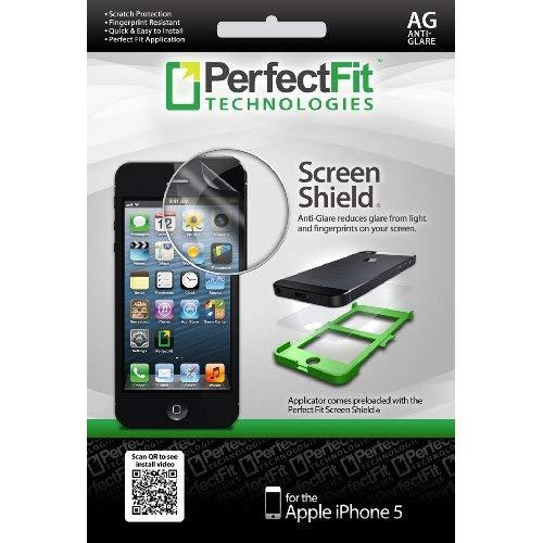 Perfect Fit Scre3339 Anti-Glare Screen Protector For Iphone 5 - Retail Packaging