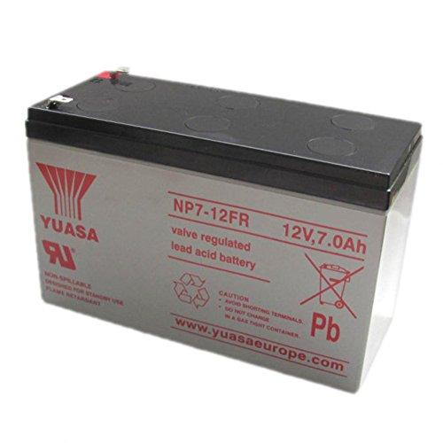 Yuasa Np7-12Fr-Np7-12Fr Flame Retardant Sla Battery 12V 7Ah -Replaces Ub1270 / P