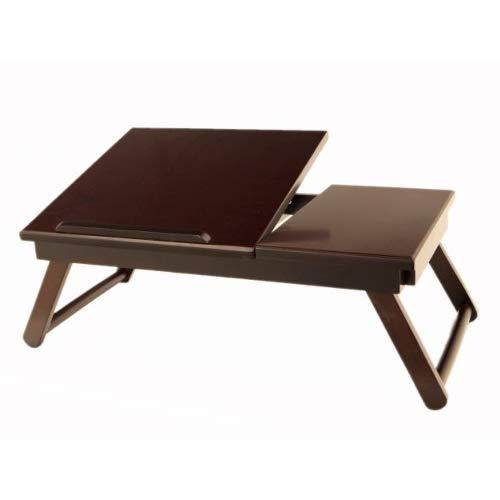 Frenchi Home Furnishing Lap Desk Flip Top With Drawer And Foldable Legs