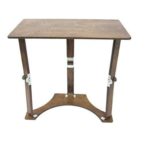 Spiderlegs Folding Laptop Desk Tray Table, 27-Inch, Dark Walnut