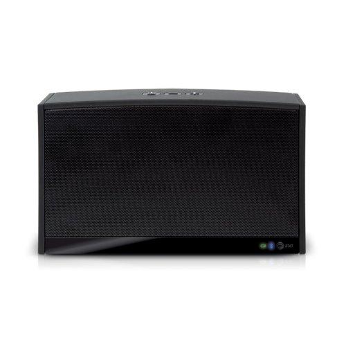 At&Amp;T Upbeat Portable Bluetooth Speaker - Black (Bts100)