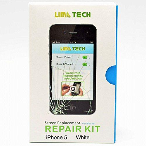 Generic Digitizer &Amp; Lcd Assembly For Apple Iphone 5 - White