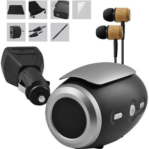 Ematic 10 Accessory Kit With Bluetooth Potable Speaker For All Generations Apple Ipad