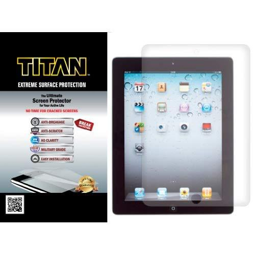 Titan Extreme Surface Protection Screen Protector For Ipad 2/3/4 With Break And Scratch Protection