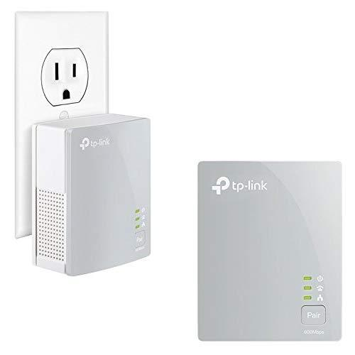 Tp-Link Av600 Powerline Ethernet Adapter - Plug&Amp;Play, Power Saving, Nano Powerline Adapter(Tl-Pa4010 Kit)