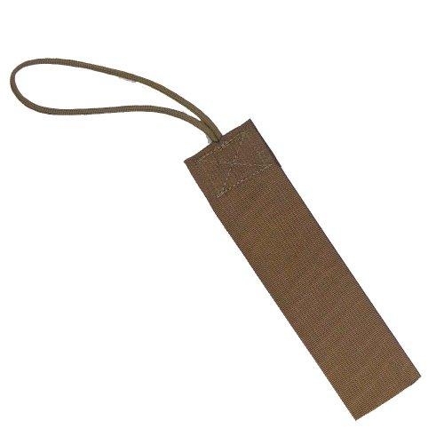 Tac Shield 2-Inch Wide Stealth Gear Tag (2-Pack), Brown