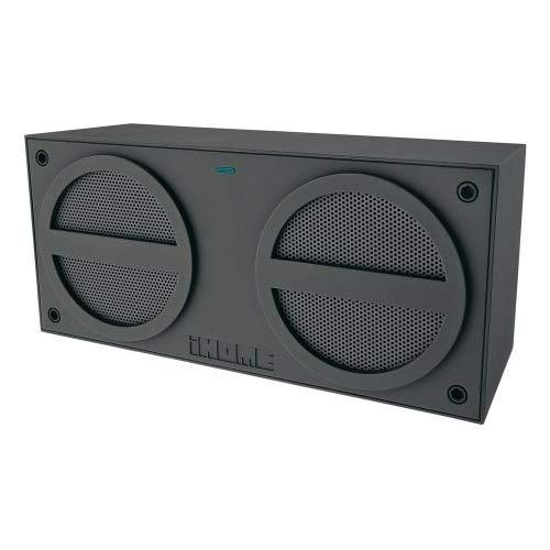 Ihome Ibn24Gc Bluetooth Rechargeable Stereo Mini Speaker (Grey) (Discontinued By Manufacturer)