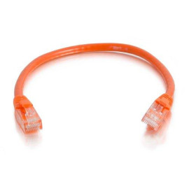 C2G/Cables To Go 00442 Cat5E Snagless Unshielded (Utp) Network Patch Cable, Orange (3 Feet/0.91 Meters)