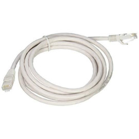 C2G 04037 Cat6 Cable - Snagless Unshielded Ethernet Network Patch Cable, White (8 Feet, 2.43 Meters)