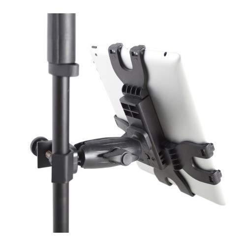 Gator Frameworks Adjustable Clamping Tablet Mount; Attach To Most Standard Mic Stands (Gfw-Utl-Tbltclmp)