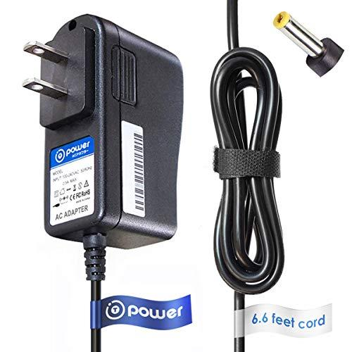"""T Power 9V Ac Adapter Charger Compatible With Lg Dp170 Blu-Ray Disc Dvd Player Linksys Befsr11 Router Nikon Coolpix 2000 , Radio Shack Pro-106 Haier 7"""" 10"""" Dvd Player Power Supply"""