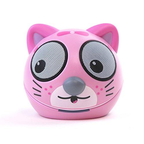 Zoo Tunes Compact Portable Bluetooth Stereo Speakers For Mp3 Players, Tablets, Laptops Etc. Kitten