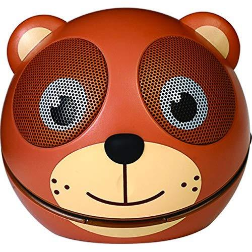 Zoo Tunes Compact Portable Bluetooth Stereo Speakers For Mp3 Players, Tablets, Laptops Etc. Teddy Bear