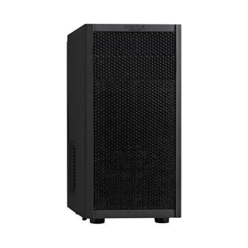 Fractal Design Core 1000 Usb 3.0 - Mini Tower Computer Case - Matx - High Airflow And Cooling - 1X 120Mm Silent Fan Included - Mesh Front Panel - Black