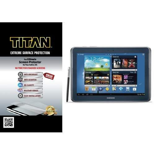 Titan Extreme Surface Protection Screen Protector For 10.1-Inch Samsung Galaxy Note With Break And Scratch Protection