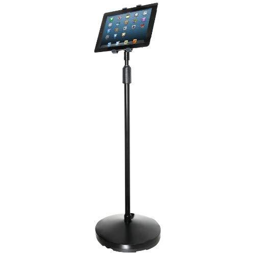 Kantek Tablet Floor Stand For Apple Ipad, Ipad Air, Ipad Pro (All 9.7-Inch, 10.5-Inch, And 11-Inch Sizes), Ipad Mini (1, 2, And 3), Kindle Fire 7-Inch (Kindle Fire, Hdx7, Hd 7), Samsung Galaxy Tab (S, S2, S3), And Galaxy Pro S (Ts890)