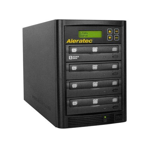Aleratec Direct V2 Copy Tower Stand-Alone Optical Drives, Black 1:3 Dvd Cd Copy Tower