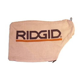 """Ridgid R4120 12"""" Compound Miter Saw Replacement Dust Bag # 089028007140"""