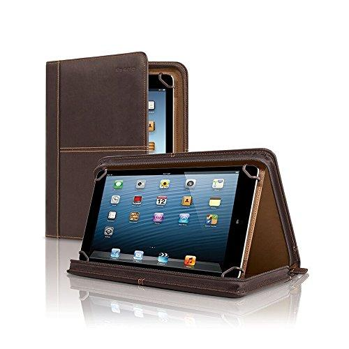 Solo Premiere Leather Universal Tablet Case, 8.5 Inch To 11 Inch, Espresso