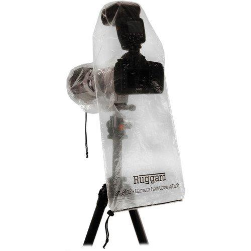 """Ruggard Rc-P18F Rain Cover For Dslr With Lens Up To 18"""" And Flash (Pack Of 2)"""