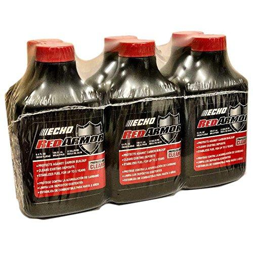 Echo 6550025 Pk6 Red Armor 6.4Oz 2-Stroke Oil Mix, 2.5 Gallon (50:1)