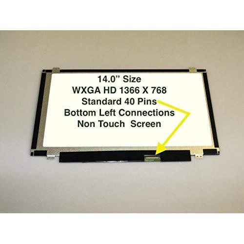 """Samsung Ltn140At28-T01 Laptop Lcd Screen 14.0"""" Wxga Hd Diode (Substitute Replacement Lcd Screen Only. Not A Laptop )"""