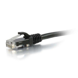 C2G 00728 Cat6A Cable - Snagless Unshielded Ethernet Network Patch Cable, Black (6 Feet, 1.82 Meters)