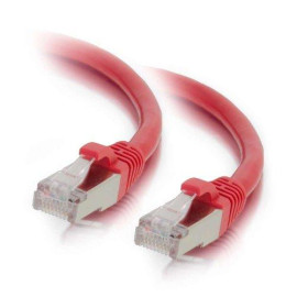C2G 00845 Cat6 Cable - Snagless Shielded Ethernet Network Patch Cable, Red (4 Feet, 1.21 Meters)