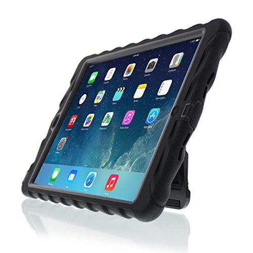 Gumdrop Hideaway Case For Apple Ipad Air 2015 Tablet For K-12 Students, Kids - Black, Rugged, Shock Absorbing, Extreme Protection