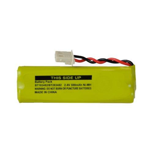 Vtech Ds6472-6 Cordless Phone Battery Ni-Mh, 2.4 Volt, 500 Mah - Ultra Hi-Capacity - Replacement For Vtech 89-1348-01-00, Bt183482/Bt283482 Rechargeable Battery