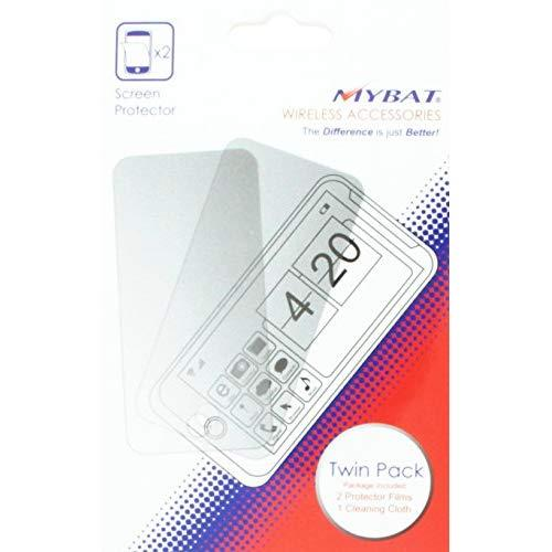 Mybat Huawei Y301A2 Vitria Screen Protector Twin Pack - Retail Packaging - Clear