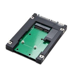 Syba 2.5-Inch Sata To Msata Ssd Adapter, Use As External Usb 2.0 Storage Device (Sd-Ada40077)