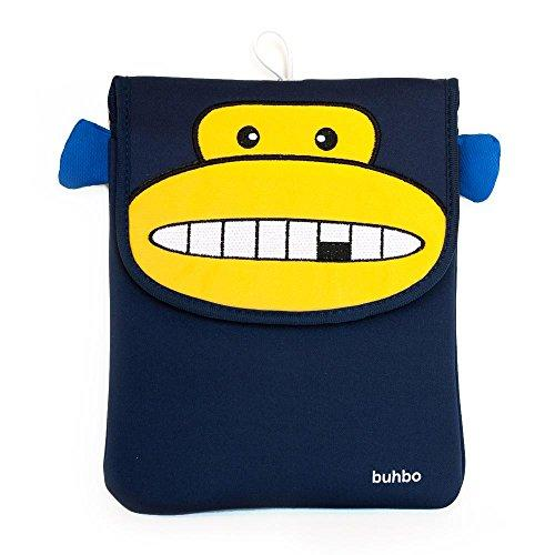 Buhbo Universal Memory Foam Case Cover For Tablets Up To 10 Inch, Momo The Monkey