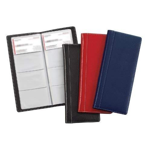 Bellino Business Card Holder, Red (8270.Red)