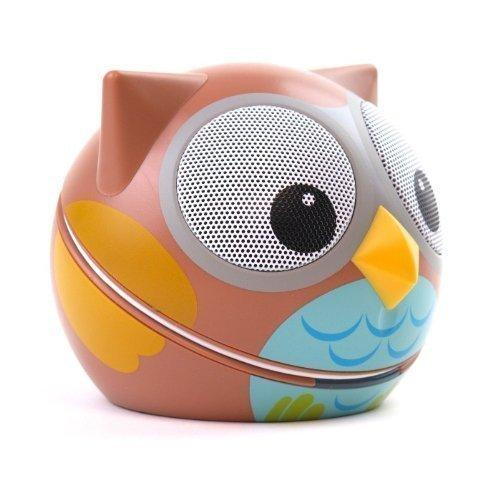 Zoo Tunes Compact Portable Bluetooth Stereo Speakers For Mp3 Players, Tablets, Laptops Etc. Owl