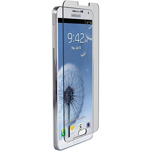Znitro Glass Screen Protector For Samsung Galaxy Note 3 - Retail Packaging - Clear Bezel