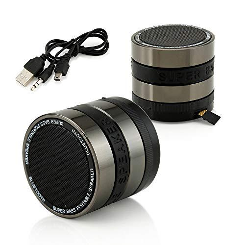 Sungale Camera Lens Stereo Bluetooth Speaker With Microphone And Multi-Function(Sbk002)