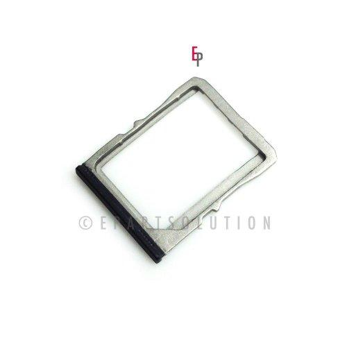 Epartsolution-Htc One M7 Sim Card Tray Holder Slot Black Replacement Part Usa Seller