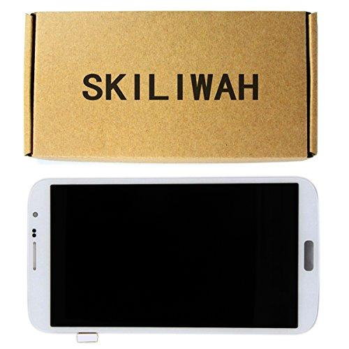 "Skliwah Lcd Display Touch Digitizer Screen For Samsung Galaxy Mega 6.3"" I9200 I9205 I9208 E310S I527 White"