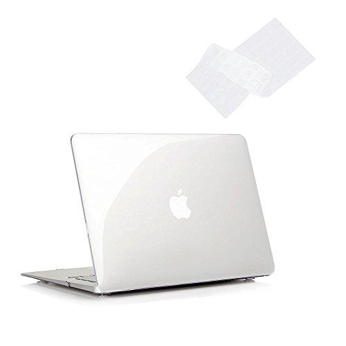 Macbook Pro 15 Case 2011/2010/2009 Release A1286, Ruban Hard Case Shell Cover And Keyboard Skin Cover For Apple Macbook Pro 15 Inch With Cd-Rom - Crystal Clear