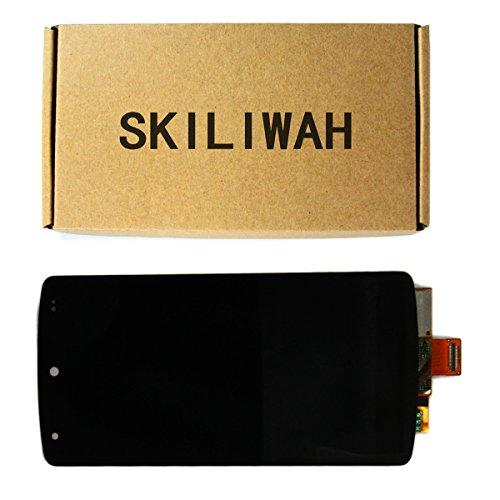 Skiliwah Lcd Touch Digitizer Display Screen Assembly Replace For Google Nexus5 D820 D821 Black