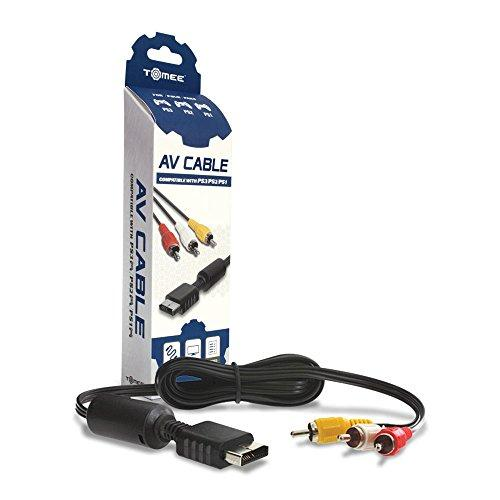 Tomee Av Cable For Ps3/ Ps2/ Playstation